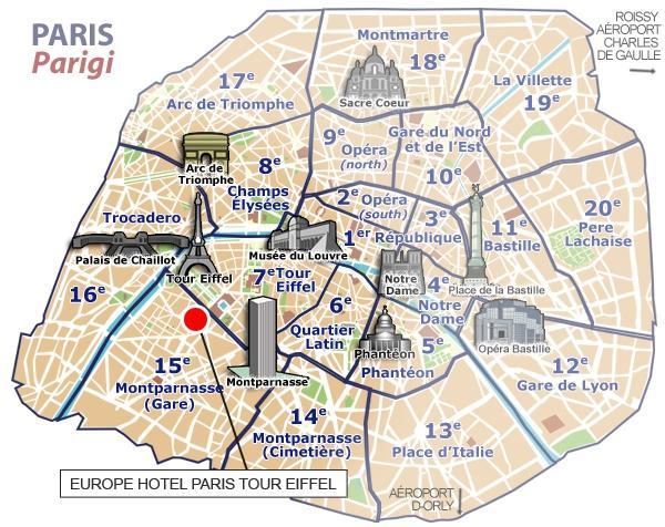 Hotel Proximite Paris